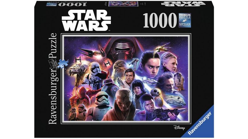 Ravensburger Puzzle Star Wars Collection 4 1000 Teile