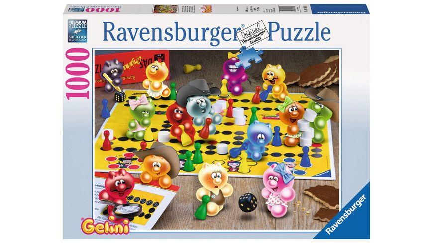 Ravensburger Puzzle Spieleabend bei den Gelini 1000 Teile