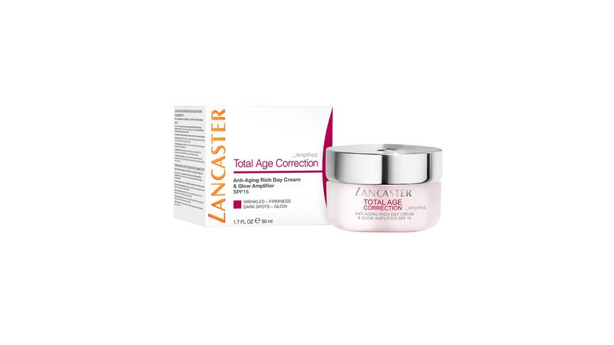 LANCASTER Total Age Correction Amplified Anti Aging Day Cream SPF 15