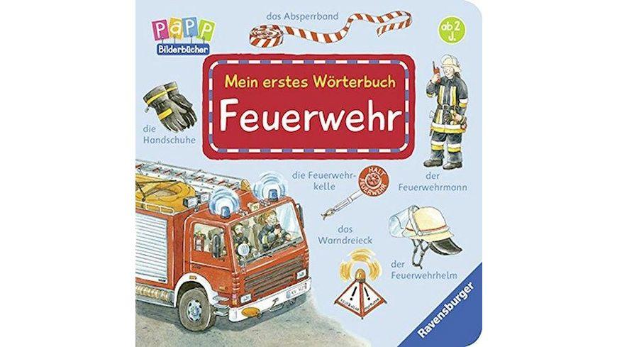 Ravensburger Mein erstes Woerterbuch Feuerwehr