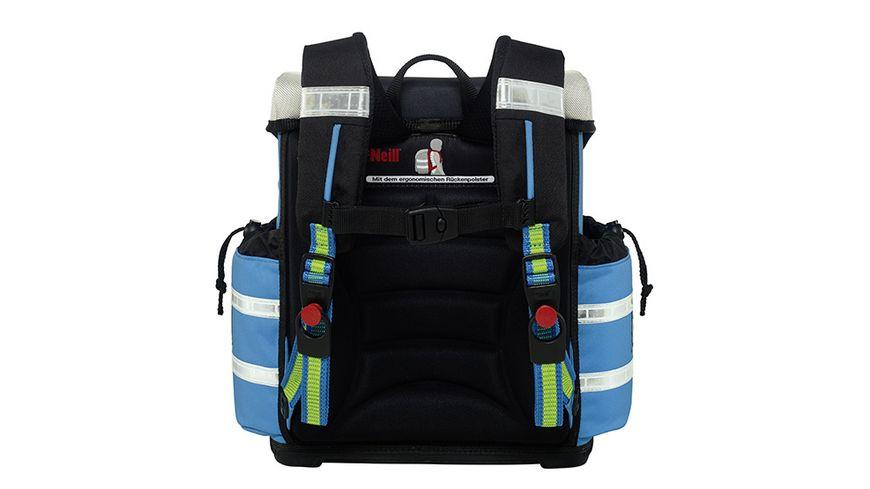 McNeill Schulranzen Set Ergo Light 912S 4tlg Polizei