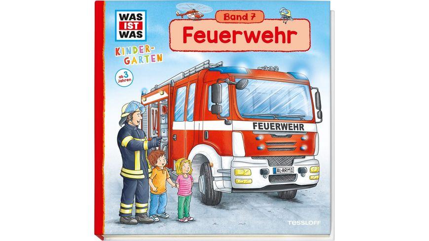 WAS IST WAS Kindergarten Band 7 Feuerwehr