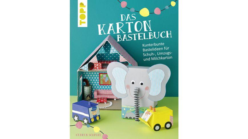 Buch frechverlag Das Karton Bastelbuch
