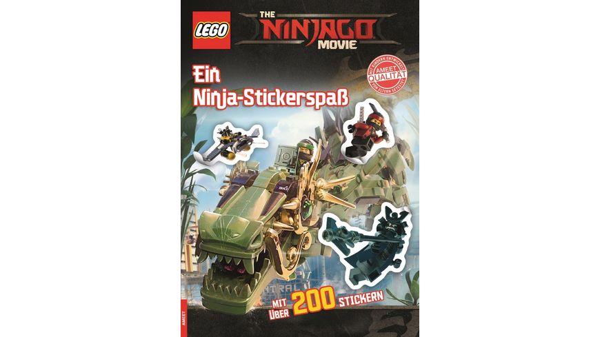 Buch AMEET Verlag The LEGO NINJAGO MOVIE Ein Ninja Stickerspass