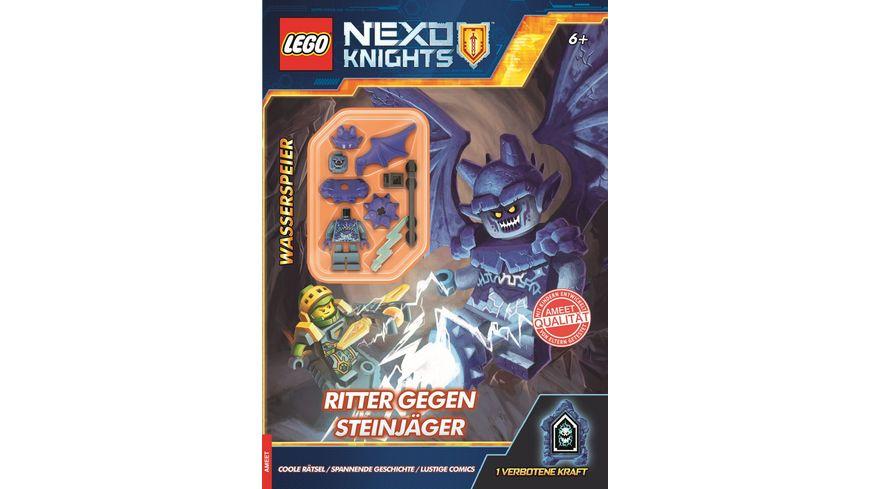 LEGO Nexo Knights Ritter gegen Steinjaeger