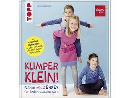 Buch frechverlag Naehen mit JERSEY KLIMPERKLEIN