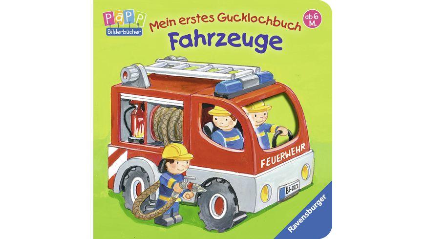 Ravensburger Mein erstes Gucklochbuch Fahrzeuge