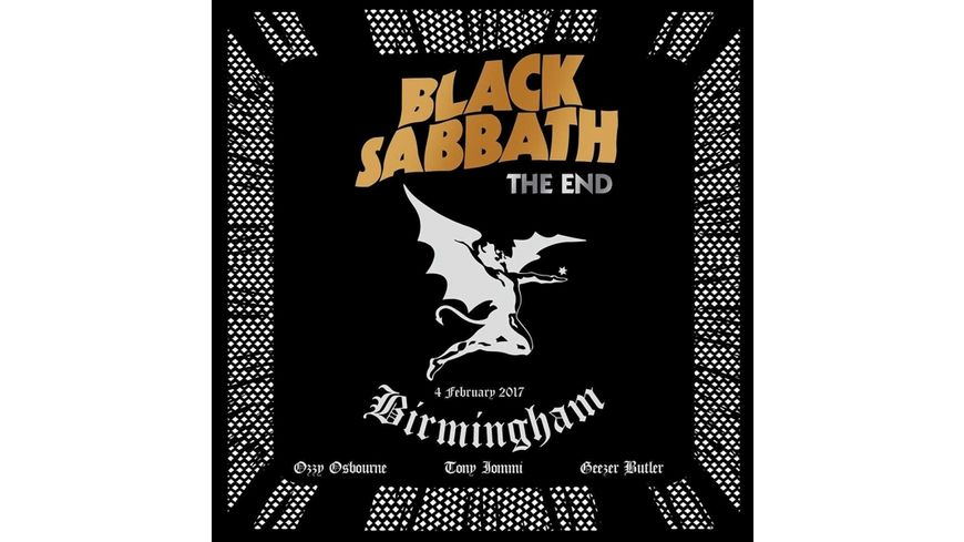 The End Live In Birmingham 2CD Audio