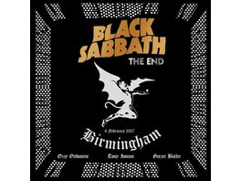The End Live In Birmingham Blu Ray CD