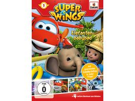 Super Wings 5 Elefantenbabybad