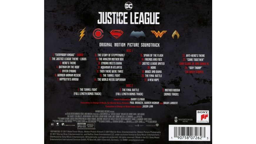Justice League OST