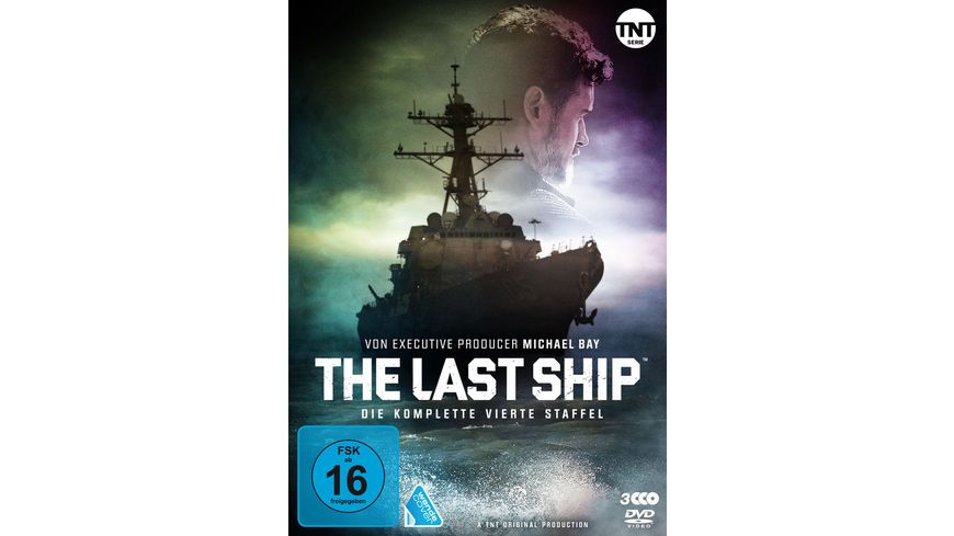 The Last Ship Staffel 4 3 DVDs