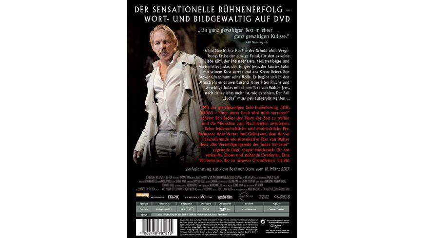 Ben Becker Ich Judas Der Film