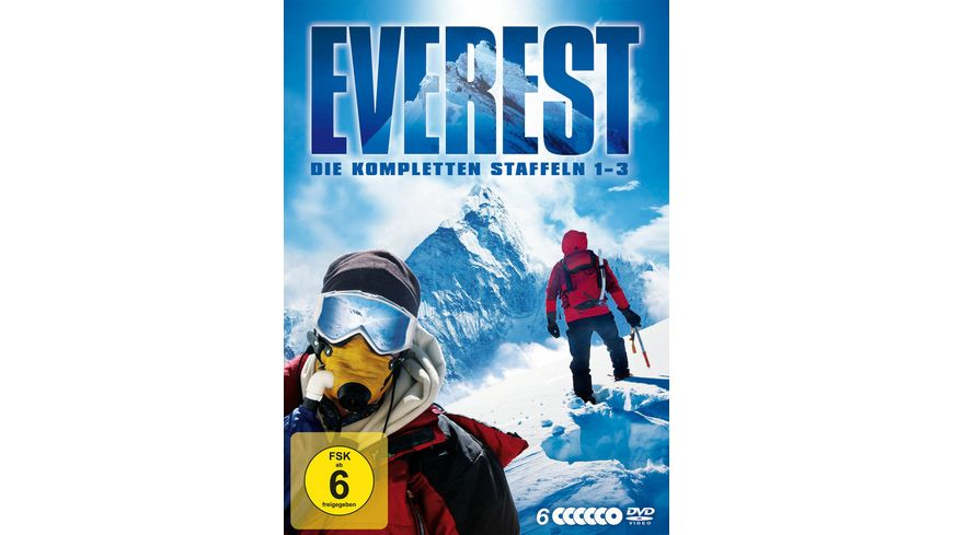 Everest Staffel 1 3 Die komplette Serie Limited Edition 6 DVDs