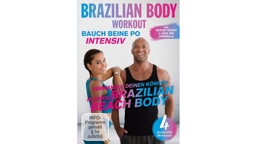 Brazilian Body Workout Bauch Beine Po intensiv