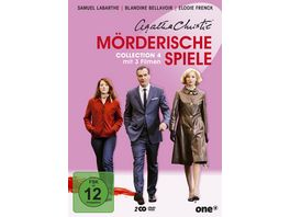 Agatha Christie Moerderische Spiele Collection 4 2 DVDs