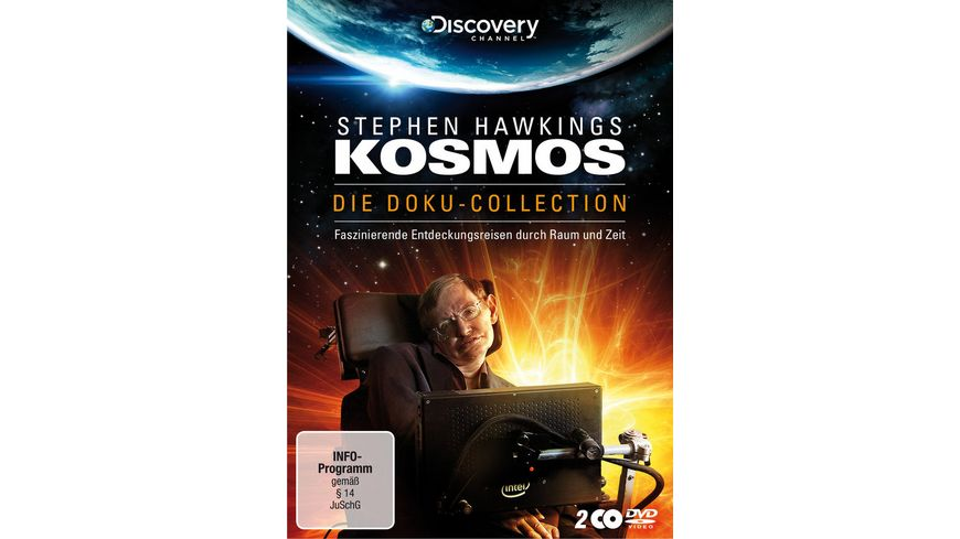 Stephen Hawkings Kosmos Die Doku Collection Limited Edition 2 DVDs
