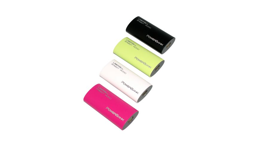 Powerbank Usewell Speedy 4 000mAh Pink