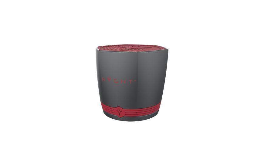 Ryght Exago Bluetooth Lautsprecher Rot