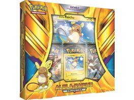 Pokemon Sammelkartenspiel Kollektion Box Alola Raichu
