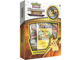 Pokemon Sammelkartenspiel Schimmernde Legenden Picachu Pin Box SM3 5