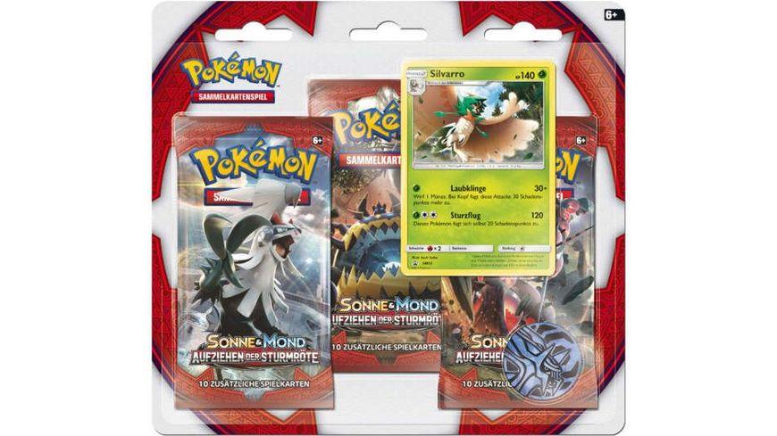 Pokemon Sammelkartenspiel Sonne Mond 04 3 er Pack Blister