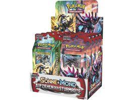 Pokemon Sammelkartenspiel Pokemon SM4 Aufziehen der Sturmroete Themendeck sortiert