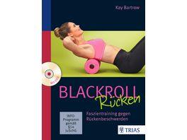 Blackroll Ruecken Faszientraining gegen Rueckenbeschwerden