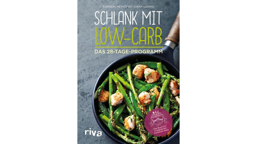 Schlank mit Low Carb 28 Tage Programm