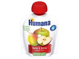HUMANA Frucht Quetschie Apfel Birne