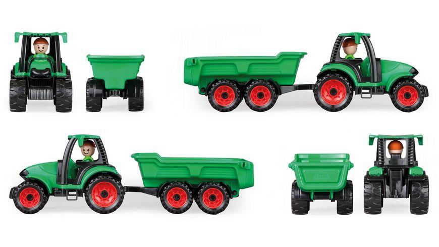 LENA Fahrzeuge Truckies Traktor mit Anhaenger