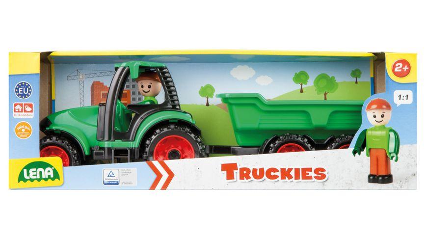 LENA - Fahrzeuge - Truckies - Traktor mit Anhänger