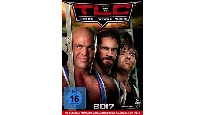 WWE TLC 2017 Tables Ladders and Chairs 2017 2 DVDs