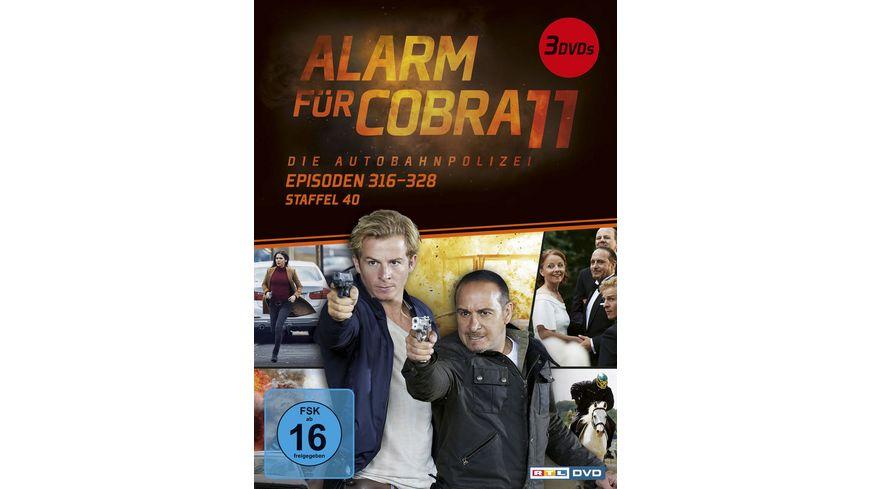 Alarm Für Cobra 11 Staffel 40 3 Dvds Online Bestellen Müller