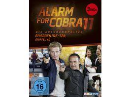 Alarm fuer Cobra 11 Staffel 40 3 DVDs