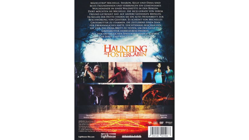 Haunting at Foster Cabin Uncut