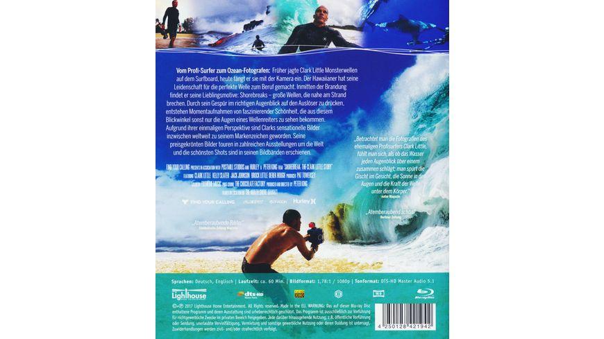 Shorebreak Die perfekte Welle Clark Little Wellenfotograf