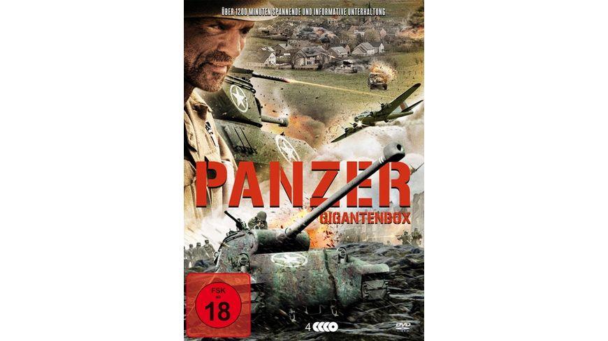 Panzer Gigantenbox 4 DVDs