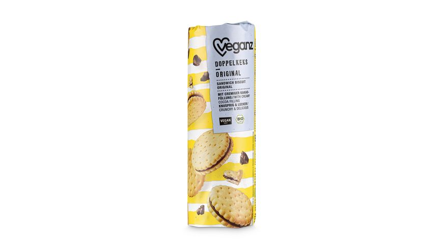 Veganz BIO Doppelkeks Original
