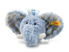 Steiff Soft Cuddly Friends Earz Elefant Rassel 12 cm