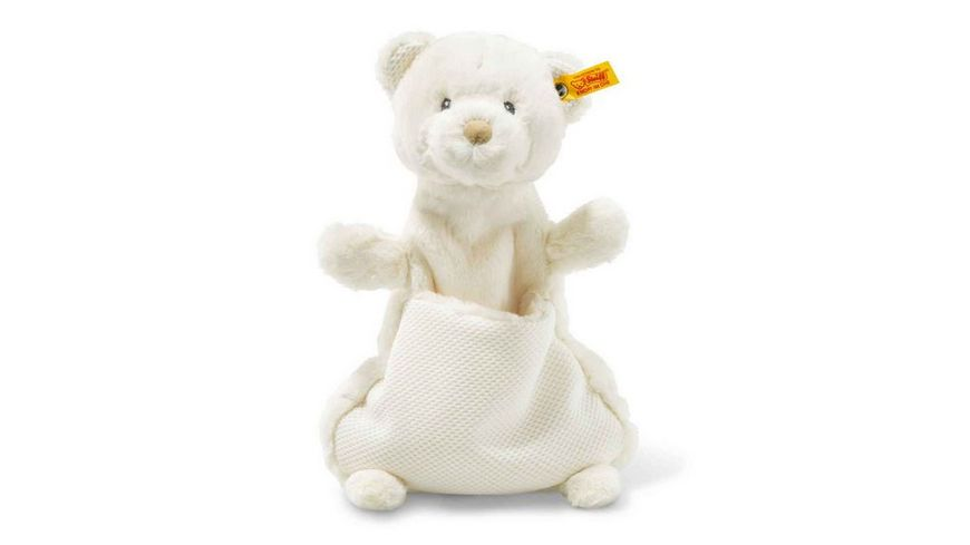 Steiff Soft Cuddly Friends Giggles Teddybaer Schmusetuch 27 cm