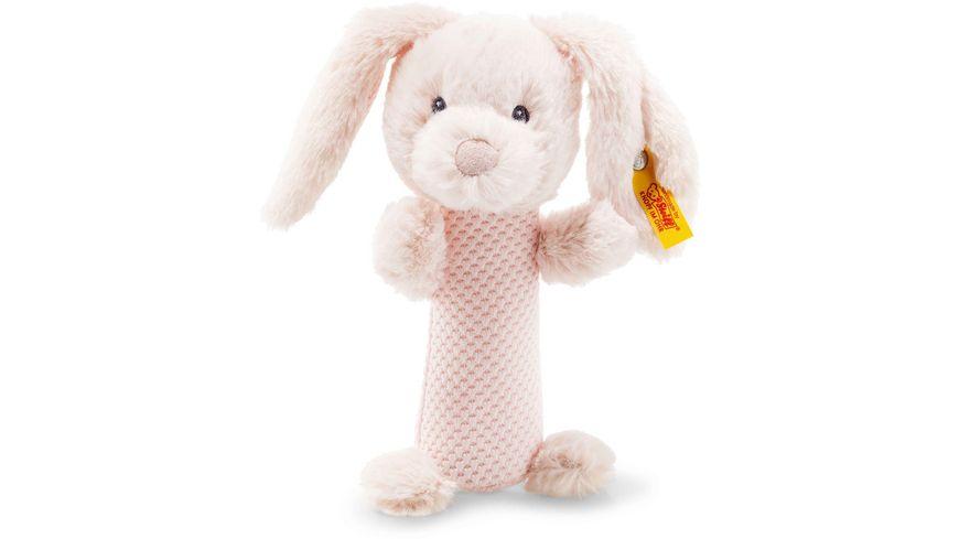 Steiff Soft Cuddly Friends Belly Hase Rassel 15 cm