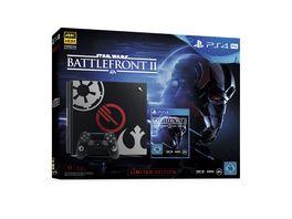 PS4 Pro Konsole 1 TB mit Star Wars Battlefront II