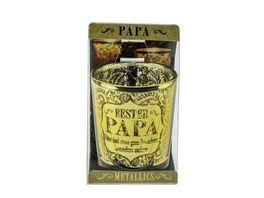 H H Metallics Kerze Papa