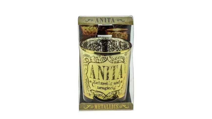 H H Metallics Kerze Anita