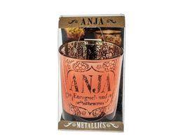 H H Metallics Kerze Anja
