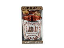 H H Metallics Kerze Barbara