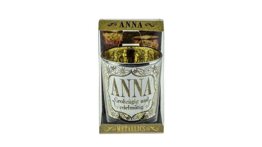 H H Metallics Kerze Anna