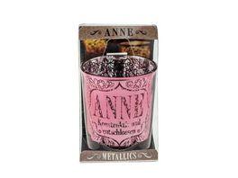 H H Metallics Kerze Anne