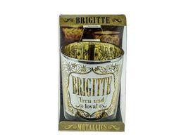 H H Metallics Kerze Brigitte
